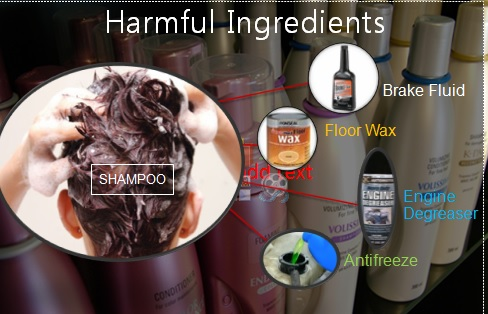 what ingredients in shampoo are harmful